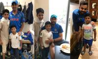 Off the field: Message of love by Pak-India cricketers to their rowdy fans