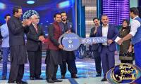 Triumphant skipper Sarfarz honored at 'Geo Khelo Pakistan'