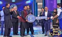 Triumphant skipper Sarfarz honored at 'Geo Khelo Pakistan'