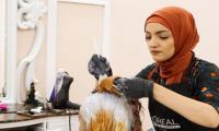 At women-only salon in Brooklyn, Muslim-Americans prepare for Eid