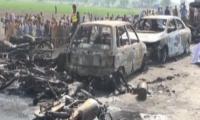 Tragedy as over 120 burnt alive near Bahawalpur