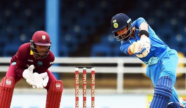 Rahane, Kohli shine as India rout sorry Windies