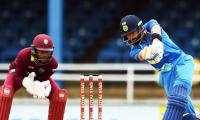 Rahane, Kohli shine as India rout sorry Windies