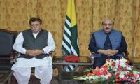 AJK President, PM denounce US decision of declaring Salahuddin 'global terrorist'