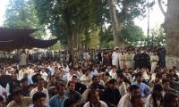 Thousands protest in Parachinar to demand security after deadly bombs