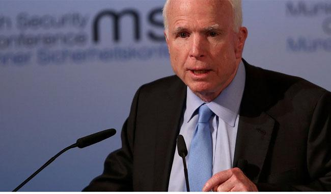 McCain calls for Pakistani ´cooperation´ to eliminate militancy in Afghanistan