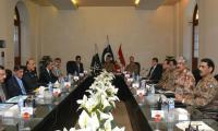 Amy chief chairs Sindh Apex Committee meeting