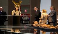Peru reveals replica of face of ancient female ruler