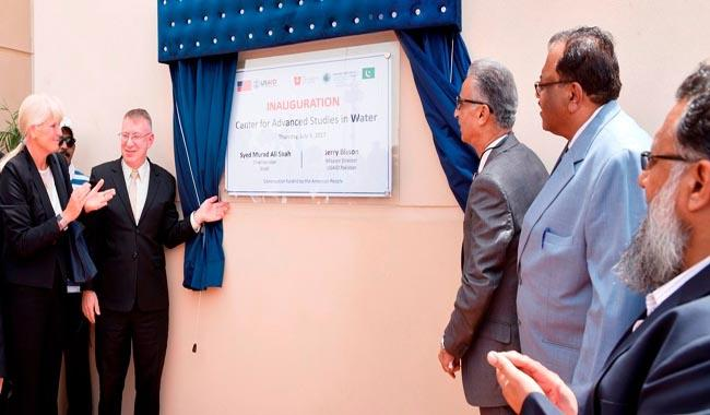 New building for US-Pakistan Center for Advanced Studies in Water inaugurated