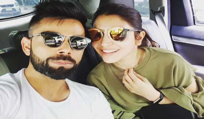 Virat Kohli and Anushka Sharma's vacation selfie is adorable
