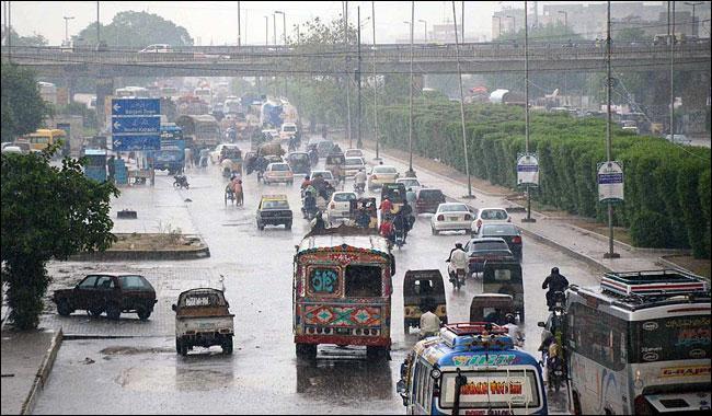 met office forecasts heavy rain for karachi from saturday