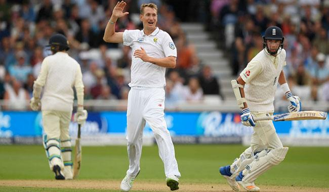 South Africa bowlers leave England reeling in 2nd Test