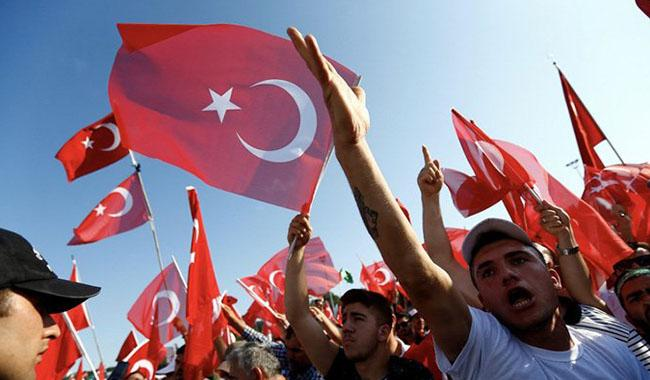 In shadow of crackdown, Turkey commemorates failed coup