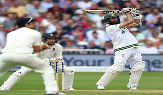 Amla strengthens South Africa´s grip on second Test