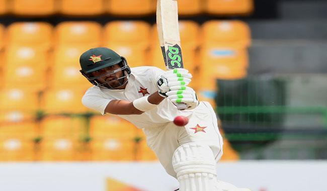 Raza 97 puts Zimbabwe on top in Sri Lanka Test