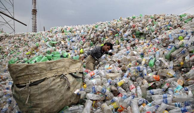 Costco Garbage Disposal >> Billions of tons of plastic trash accumulating on Earth ...