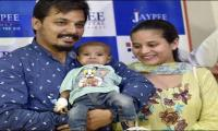 Pakistani infant returns home after receiving heart treatment in India