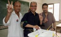 PS-114: EC issues Saeed Ghani's victory notification