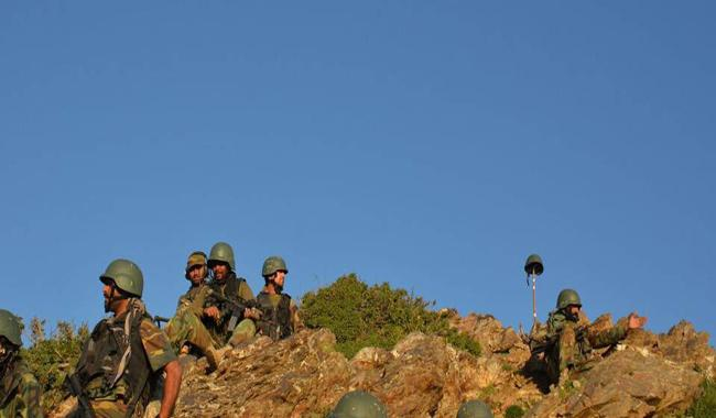 Pak Army cleared terrorists' hideouts on mountain near Afghan border