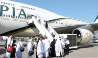 First flight carrying 328 Haj pilgrims leaves for Madina Munawara