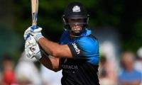 Worcestershire´s Ross Whiteley hit six sixes