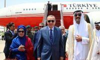 Erdogan in Qatar for talks on Gulf crisis
