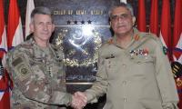 US commander visits GHQ: Gen Bajwa voices concern over blame game by Afghanistan, US