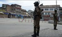 Complete shutdown in IOK against arrest of Hurriyat leaders