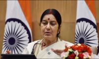 Indian daughters, daughters-in-law from Pakistan always welcome: Sushma tweets