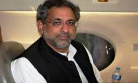 Khaqan Abbasi files nomination papers for PM