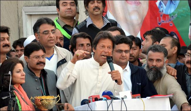 Imran says army should have no role in running government