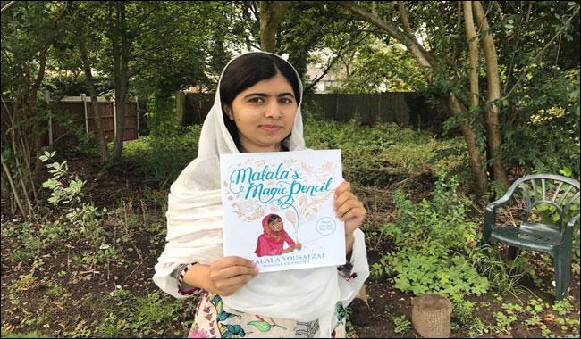 'Malala's Magic Pencil' book set to inspire children world wide