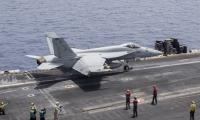 Iranian drone buzzes US naval jet in Gulf: US