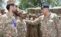 Gen Bajwa visits Sindh Regimental Centre