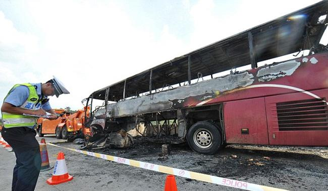 At least 36 killed in China bus crash: state media