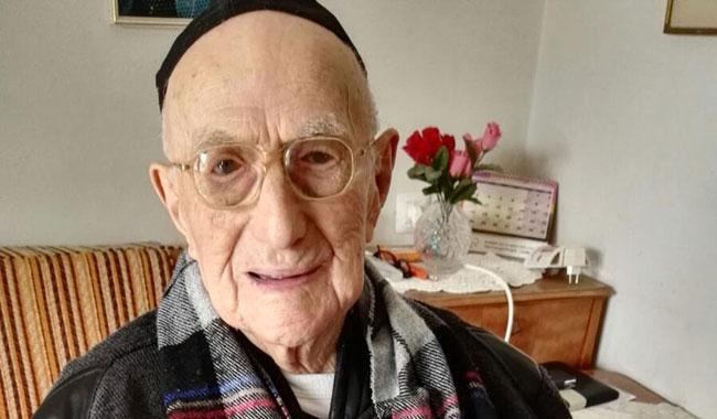 Yisrael Kristal, the World's Oldest Man, Niftar at 113