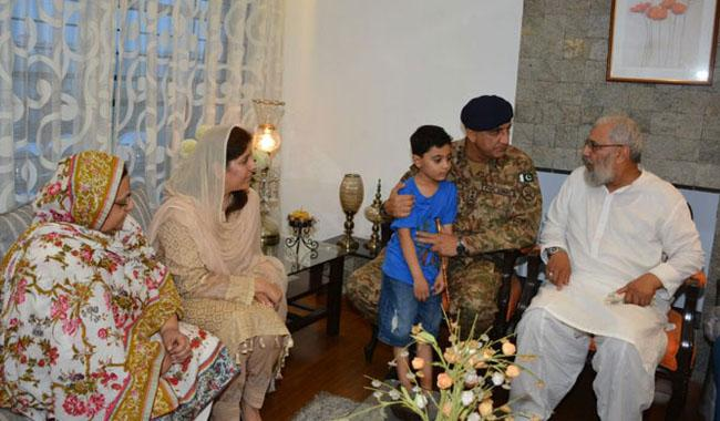 Gen Bajwa says peace, rule of law to be restored at all cost