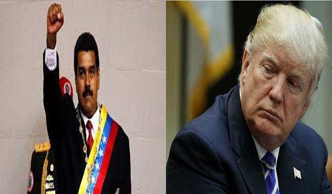 Trump says mulling ´military option´ on Venezuela