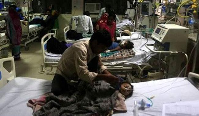 Sixty deaths over 5 days at India hospital without oxygen