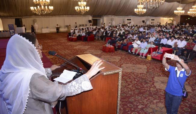 'Azme-Naujawan': Karachi celebrates Youth Day with largest gathering of community youth leaders