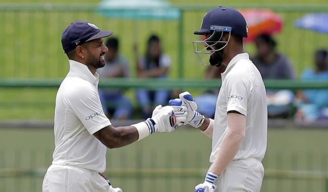 Sri Lanka fight back after Dhawan-Rahul stand on 1st day of 3rd Test