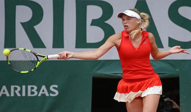 Wozniacki ends Stephens´ run to reach Toronto final