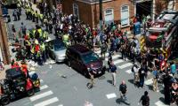 One dead, 19 hurt after car rams crowd at US far-right rally