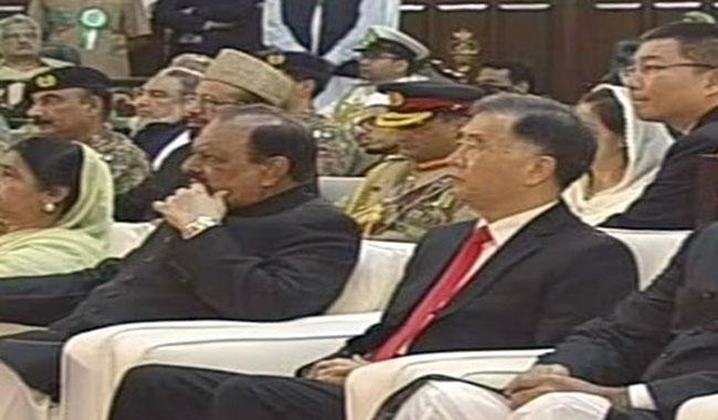 Pakistan fully supports China's stance on Tibet: President Mamnoon