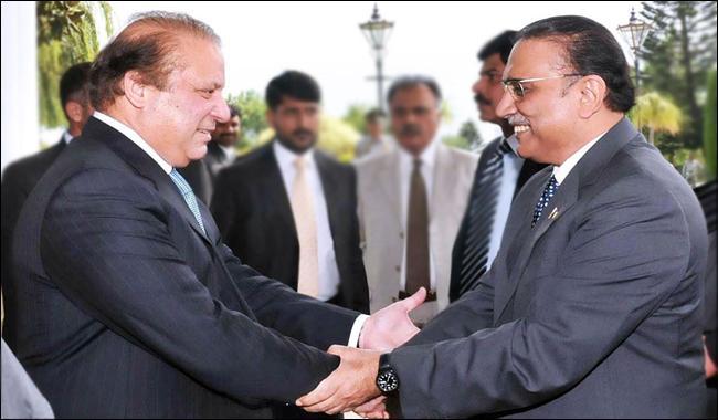 Zardari gives cold shoulder to Nawaz's 'grand national dialogue' offer