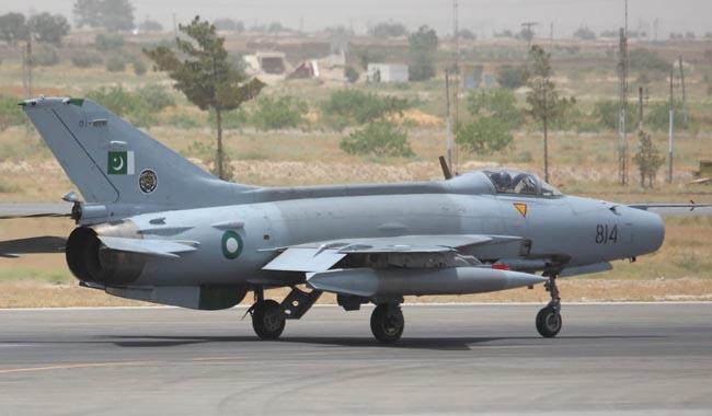 PAF training jet crashes near Sargodha