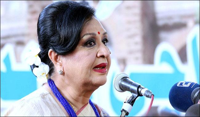 Veteran Pakistani film actress Shabnam turns 74