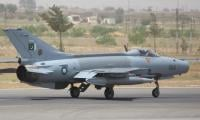 PAF aircraft crashes near Sargodha, pilot safe