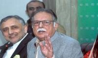 Pervaiz Rashid says govt was unable to bar Musharraf from leaving Pakistan