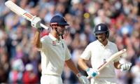 Cook double century adds to Windies woes